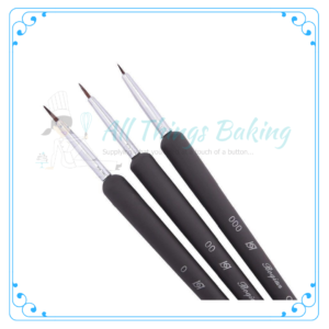 Thin Brush Set of 3 - All Things Baking