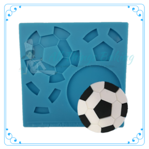 Assemble it mould - Soccer Ball - All Things Baking