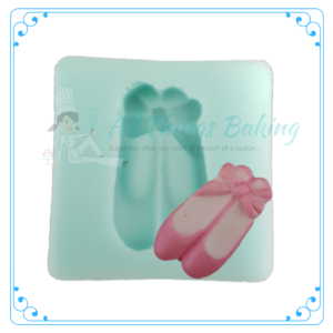 Silicone Mould - Ballet Shoes - All Things Baking