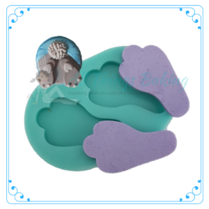 Silicone Mould - Bunny Feet - All Things baking