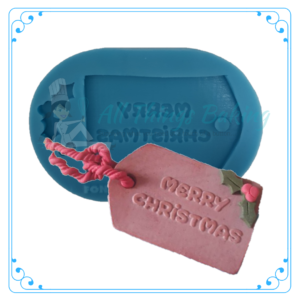 Silicone Mould - Merry Christmas - All Things Baking