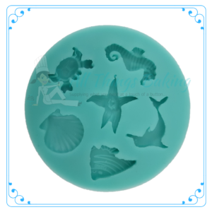 Silicone Mould - Sea Creatures - All Things Baking