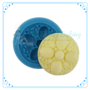 Silicone Mould - Small Round Broach - All Things Baking