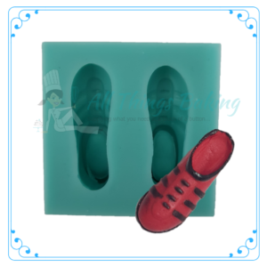 Silicone Mould - Soccer Boots - All Things Baking