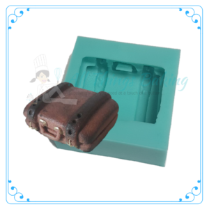 Silicone Mould - Suitcase - All things Baking