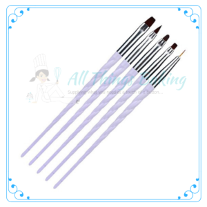 Unicorn brush set - All Things Baking