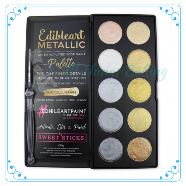 Water Activated Paint Palette - All Things Baking