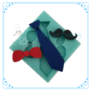 Silicone Mould - Bowtie & Tie - All Things Baking