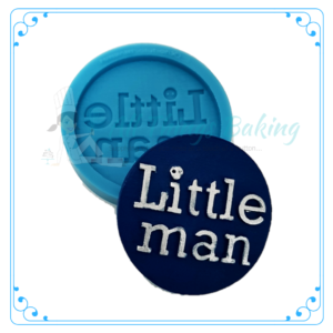 Silicone Mould - Little man disc