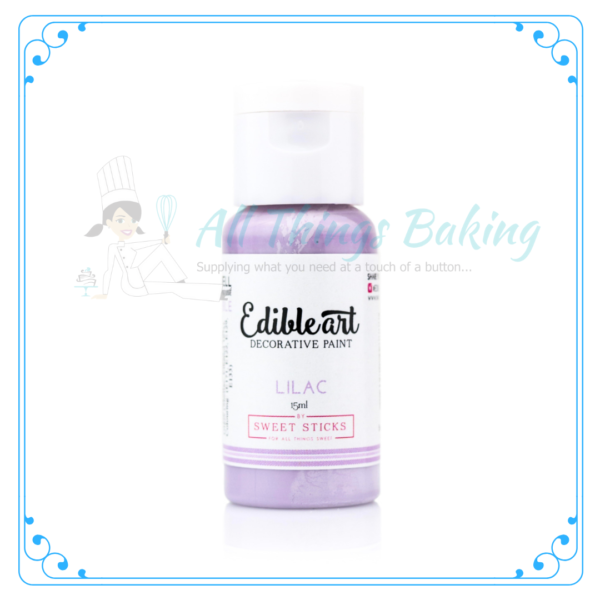 Edible Paint - Lilac - All Things Baking