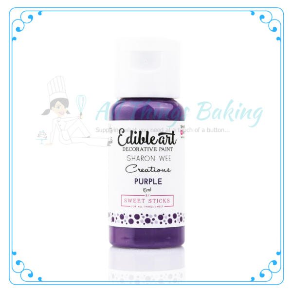 Edible Paint - Purple - All Things Baking