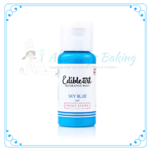 Edible Paint - Sky Blue - All Things Baking