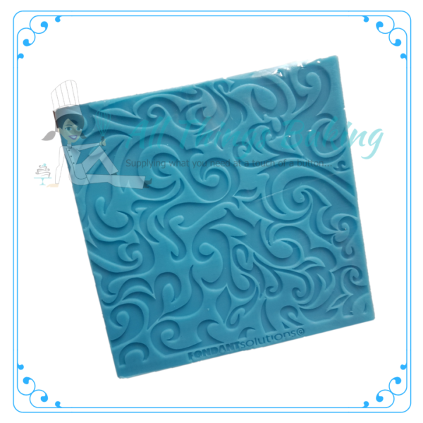 Embossing Mat - Fire Texture - All Things Baking