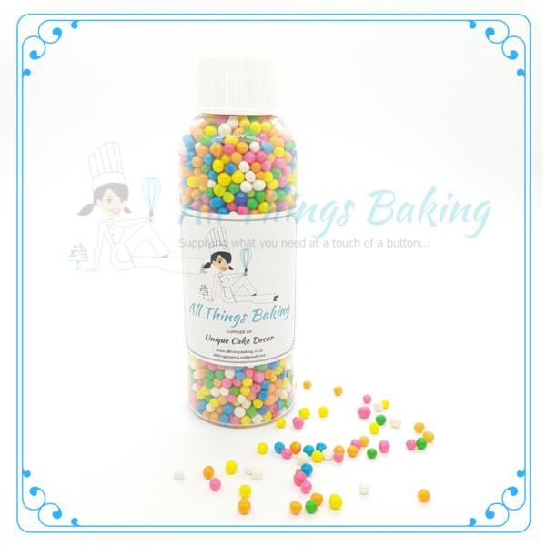 Mini Rainbow Pearls - All Things Baking