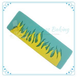 Silicone Mould - Fire Border - All Things Baking
