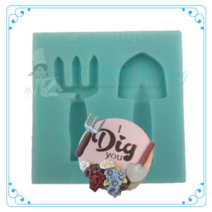 Silicone Mould - Garden Tools - All Things Baking