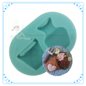 Silicone Mould - Little Pots - All Things Baking