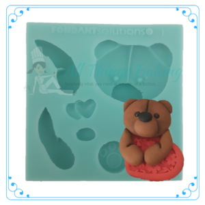 Silicone Mould - New Bear - All Things Baking