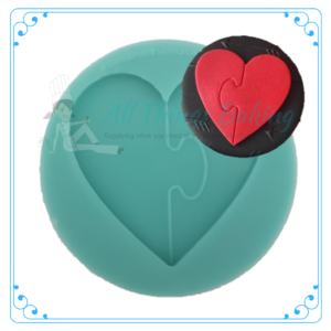 Silicone Mould - Puzzle Heart
