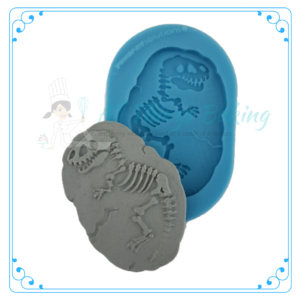 Silicone Mould - TRex Fossil - All Things Baking