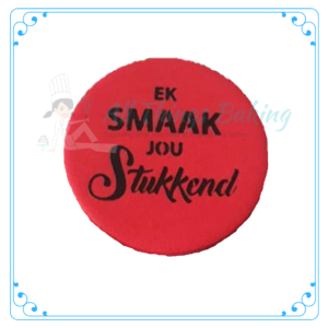 Stencil - Ek smaak jou stukkend - All Things Baking
