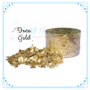 Inca Gold Edible Flakes - All Things Baking