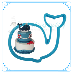 Plastic Cutter - Whale - All Things Baking