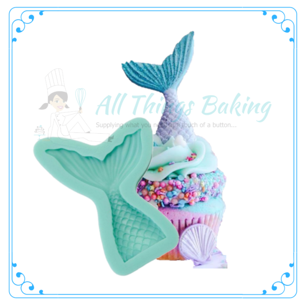 Silicone Mould - Mermaid Tail - All Things Baking