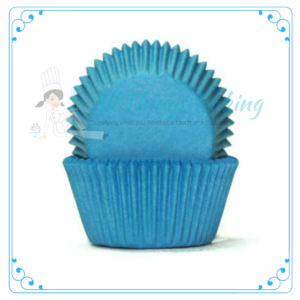 Blue Baking Cupcake Cups - All Things Baking