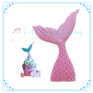 Edible Decorations Mermaid Tail - All Things Baking