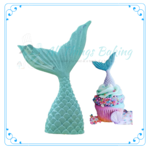 Edible Decorations - Mermaid Tail - All Things Baking