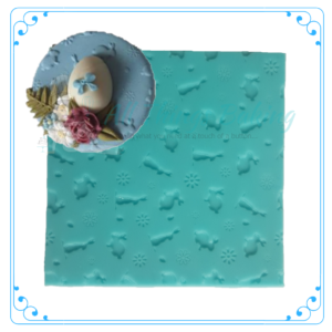 Embossing Mat - Bunnies - All Things Baking