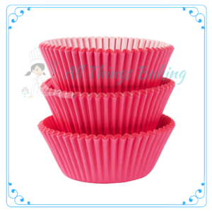 Pink Baking Cupcake Cup - All Things Baking