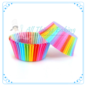 Rainbow Baking Cupcake Cup - All Things Baking