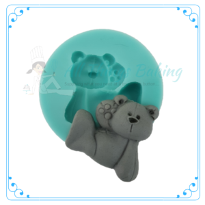 2D Bear Waving Mould - All Things Baking