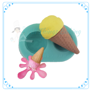 Silicone Mould - Ice cream cone
