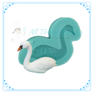 Silicone Mould - Swan (Left) - All Things Baking