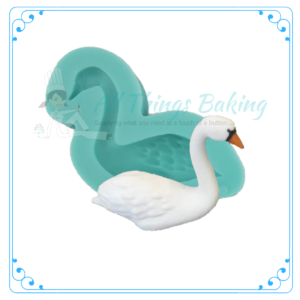 Silicone Mould - Swan (Right) - All Things Baking