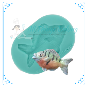 Silicone Mould - Fat Fish