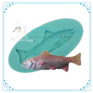 Silicone Mould - Skinny fish