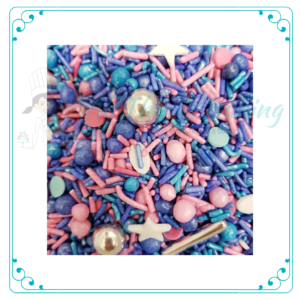 Pink Calypso Regatta Sprinkles - All Things Baking