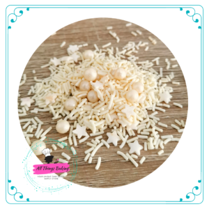 Mixed Sprinkles - Cream