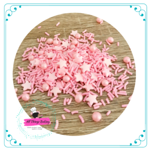 Mixed Sprinkles - Pink