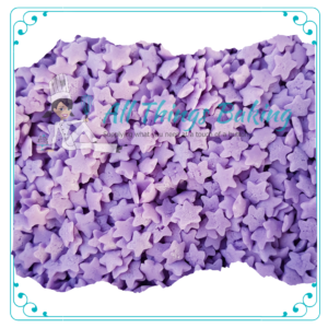 Purple Confetti Star