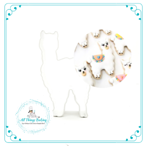 Llama Cookie Cutter - 10.5cm - All Things Baking