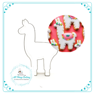 Llama Cookie Cutter 12cm - All Things Baking