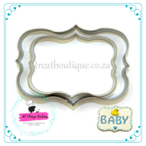 Cookie Cutter Stainless Steel - Plaque E Set