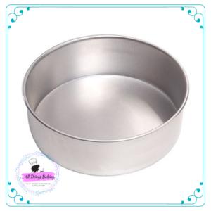 Round Cake Pan Aluminium