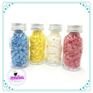 Edible Confetti - White Stars