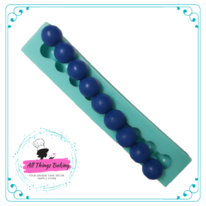 Silicone Mould - Large Pearls